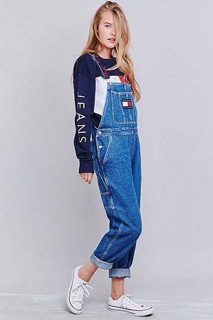 Tommy Jeans Classic Long Denim Latzhose