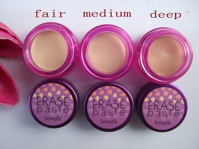 > > > Benefit erase paste brightening concealer 3 shades