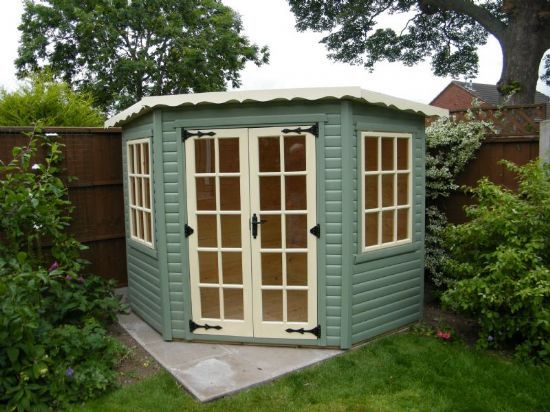 Great 8ft X8ft Corner Summer House By