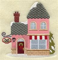 Machine Embroidery Designs at Embroidery Library! - A Christmas Village Design Pack - Sm