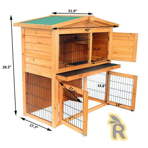 Rabbit Housing Dimensions 2 Jpg 620 620 Wooden Rabbit Rabbit Hutches
