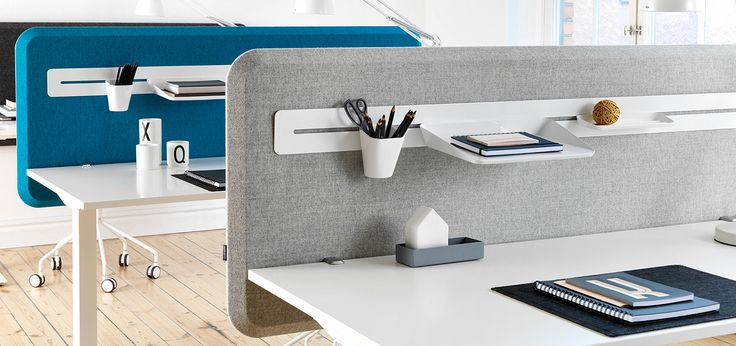 Domo Table Screen Soundabsorbing Desk Panels
