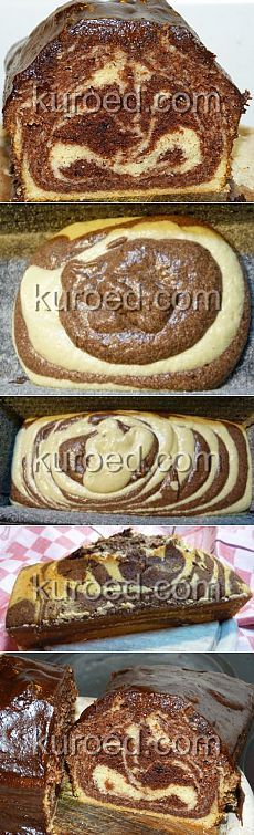 Recipes |  Marble cake & quot; flower & quot;