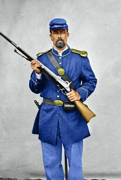 union soldier in uniform civil war pinterest