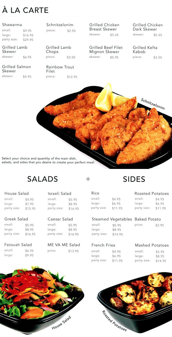 Me Va Me menu #2