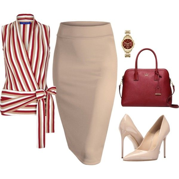 A fashion look from August 2016 featuring Winser London tops, Massimo Matteo pumps и Kate Spade handbags. Browse and shop related looks.