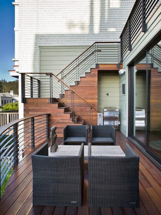 Stunning wrought iron deck railing  Wrought Iron Deck