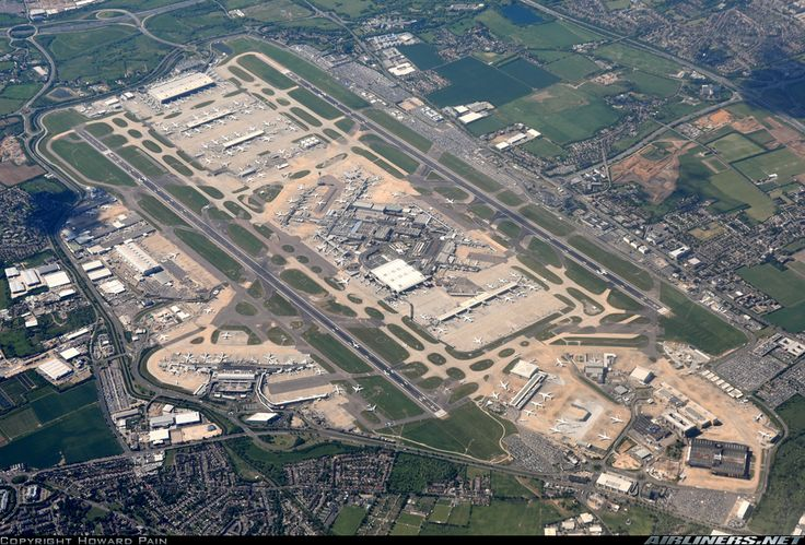London Heathrow International Airport (LHR)/Hounslow, ENGLAND, UNITED KINGDOM