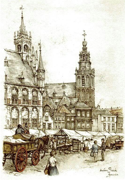 Gouda - Anton Pieck