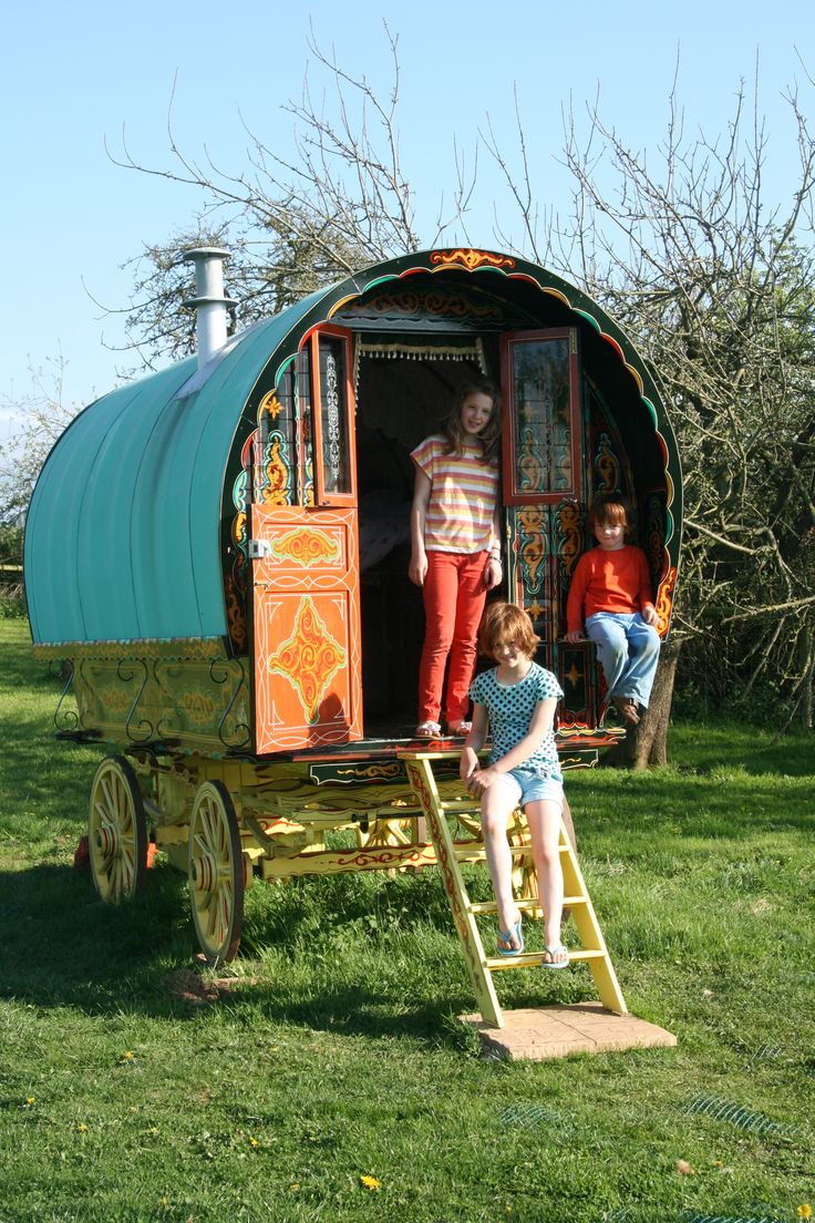 www.gypsycaravanbreaks.co.uk  The kids will love it