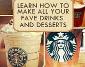 Starbucks DIY, Starbucks Recipe eBook, DIY Starbucks Coffee, Drinks, Fraps, Save Money on Starbucks, [[Limited Time 5% Off Code: 5OFFTODAY]]