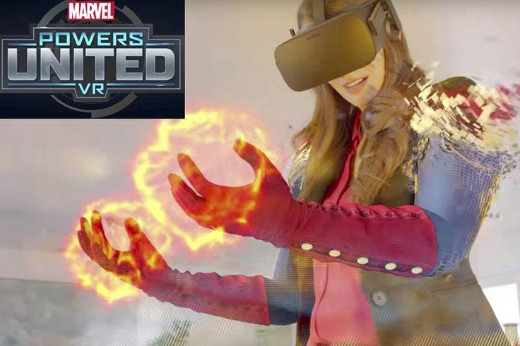 Marvel Powers United VR es un juego de realidad virtual que te permite convertirte en tu superhéroe favorito; saldrá en 2018 para el Oculus Rift.