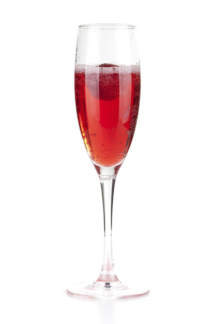 The Red Witch Recipe -- 1 part UV Cherry vodka * 2 parts champagne -- Stir and serve in champagne flute. Garnish with a cherry.