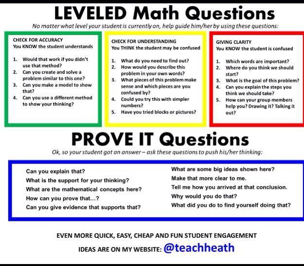 Math Questioning Strategies