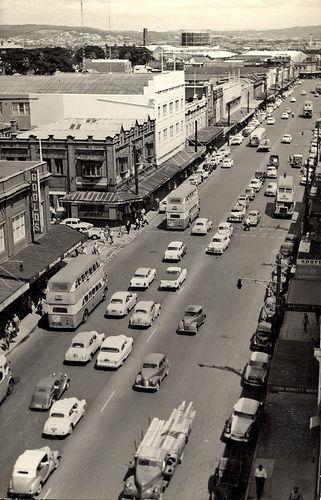 View of Hunter Street, Newcastle, NSW, Australia [c.1950's] | by UON Library,University of Newcastle, Australia