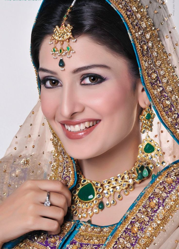 Best 25+ Dulhan Makeup Ideas On Pinterest | Pakistani Hair Jewelry Pakistani Bridal Hair And ...