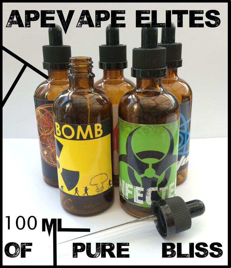 Prepare Your Tastebuds For Our 100ml Tongue-Tingling Delicious 100ml Elite Flavours £19.95! http://ape-vape.co.uk/collections/10ml-elite-flavours/products/100ml-elite-bespoke-e-liquid