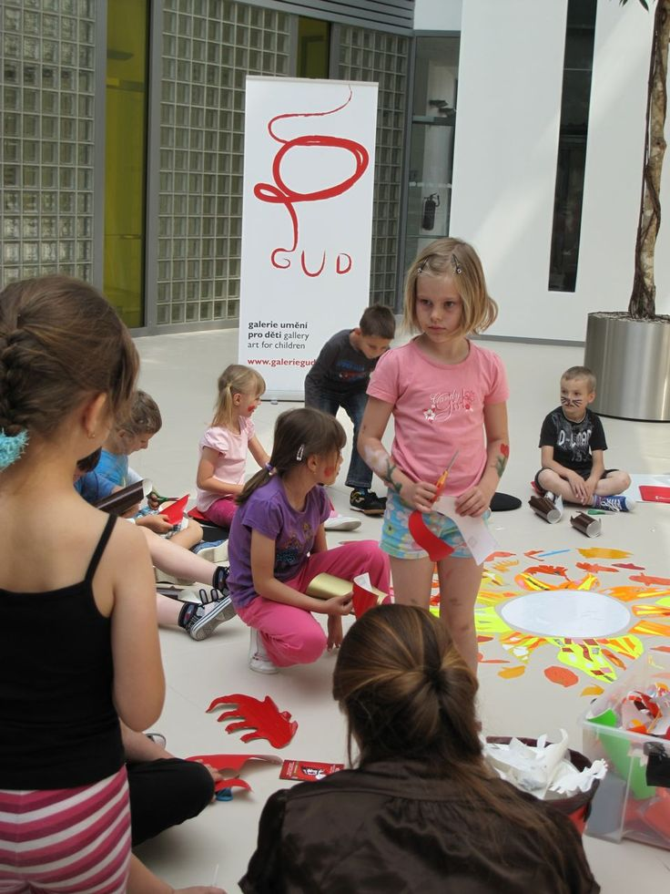 In the Old Town Square there is the unusual GUD art gallery for children from 2 to 13. The kids co-create the exhibits!