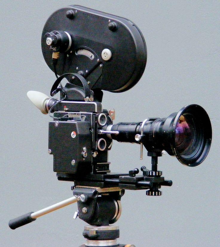 Bolex H16 RX5 Camera with Angénieux 12-120mm f/2.2 H16 RX-Mount Lens and Angénieux 0.76x Retro-Zoom Conversion Lens