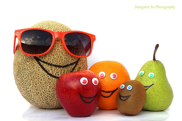 People are like fruit. Our friends and family come in different shapes, sizes and characters.