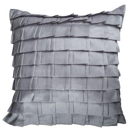 Elysia Cushion, Silver