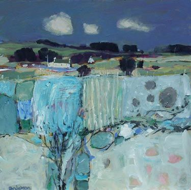 'April Morning, Kilmacolm' by Charles Anderson, British Artist