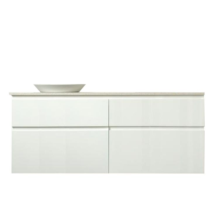 Bathroom vanity - Marquis Phoenix - in 1500mm Vanity, 4 Drawer, Single Bowl Centred and inbuilt (Wallmount | Southern Innovations)