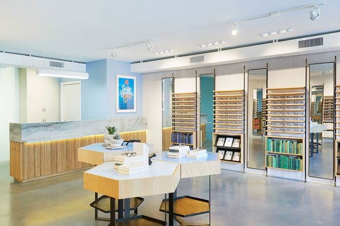 Warby Parker's first west coast store 2