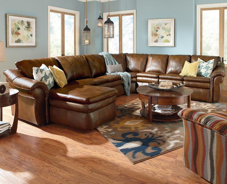 Devon 5 Piece Reclining Sectional Sofa by La-Z-Boy - Best 25+ Reclining Sectional Sofas Ideas On Pinterest Reclining