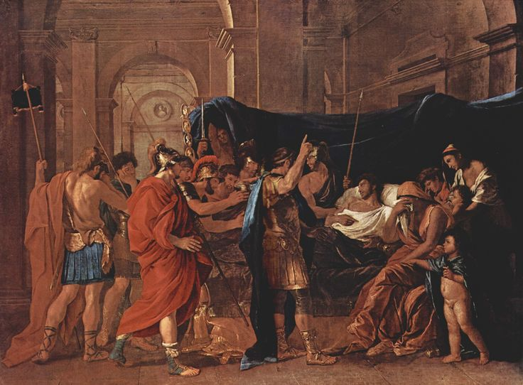 Nicolas Poussin- The Death of Germanicus: File Nicolas Poussin, Death Germanicus, Oil On Canvas, 1628 Nicolas Poussin, Filenicola Poussin, Poussin 019 Jpg, Chick 15941665, Poussin 019Jpg, Germanicus 1628