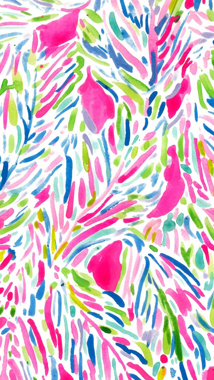Let there be silence while this Lilly Pulitzer print does the talking : Palm Reader.
