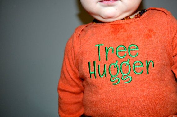 Tree Hugger Advocacy Tee by ThePerfectTension on Etsy Recycle, babywearing, breastfeeding, baby,