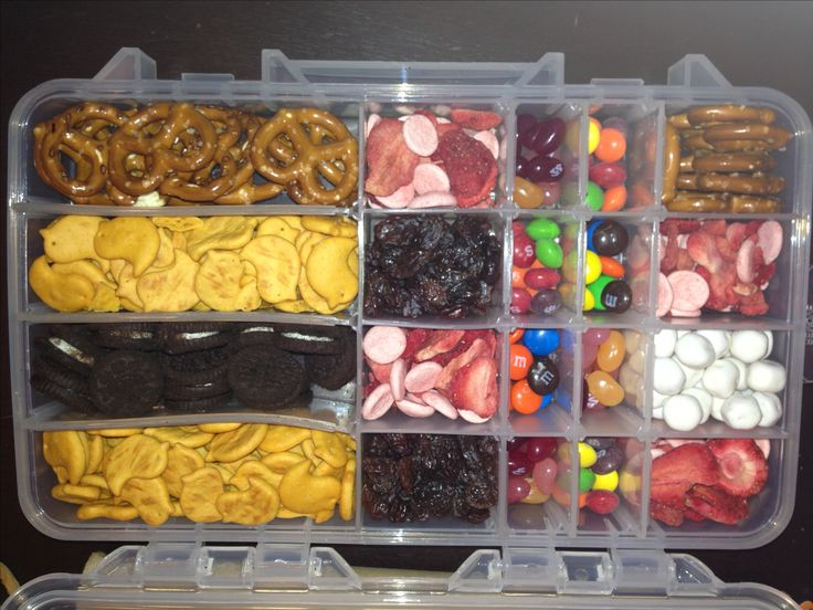 Needed fun idea for snacks on the plane trip hubby for Rods fish food