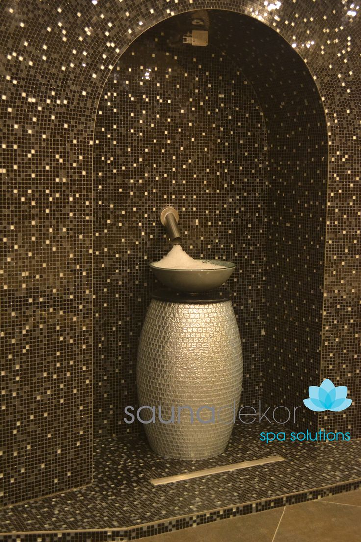 ICE FOUNTAIN SPECIAL DESIGN GLASS MOSAIC