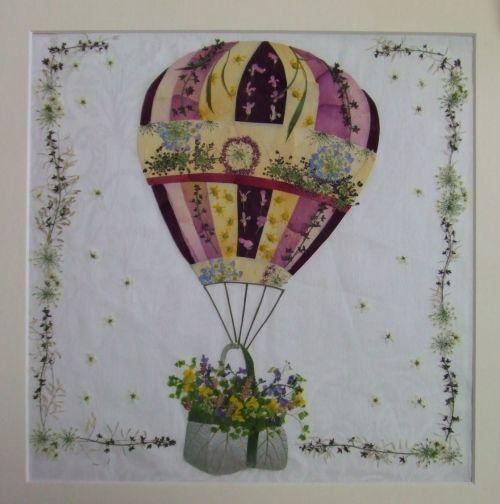 気球 - さくら 吹雪の 押し花アトリエ プチ フルール