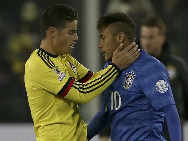 ¿James Rodríguez le aconseja con sarcasmo a Neymar?   Peru.com