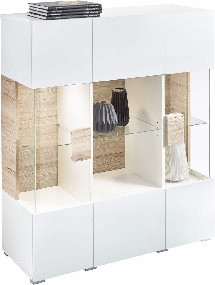 25+ melhores ideias de Highboard weiß hochglanz no Pinterest - wohnzimmer vitrine weis hochglanz