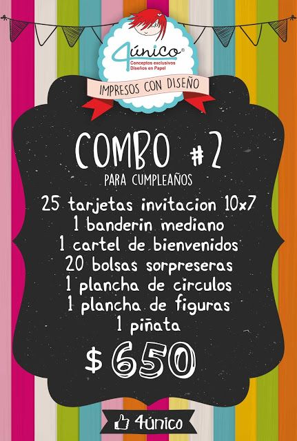 4único :: Impresos con diseño: COMBO 2