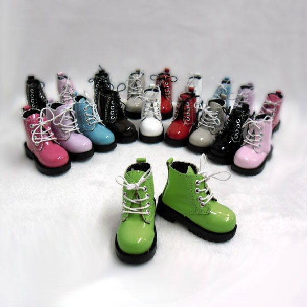 Mimi Collection MSD DOC 1/4 Bjd Obitsu 60cm Doll Boots High Hill Shoes GREEN #MimiCollection #Shoes