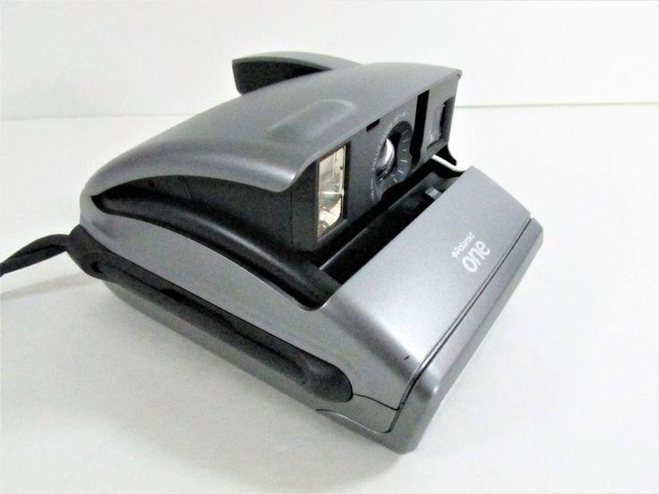 Polaroid ONE 600 Instant Film Camera ONE600 Silver Tested #Polaroid