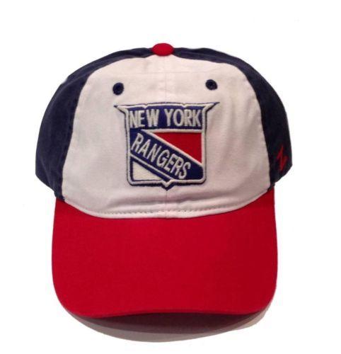 New-York-Rangers-Zephyr-Trey-Unstructured-Adjustable-Hat-Size-OSFM-NWT