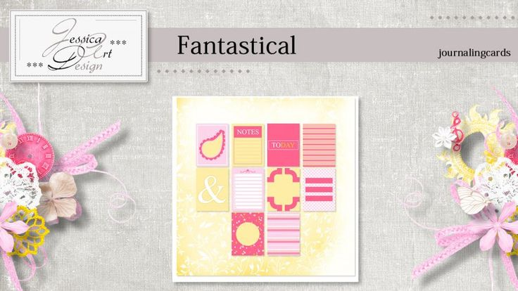 Fantastical journalingcards by Jessica art-design