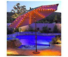 Best 25+ Patio Umbrella Lights Ideas On Pinterest | Garden Umbrella  Lighting, Patio Table Umbrella And Small Garden Parasol