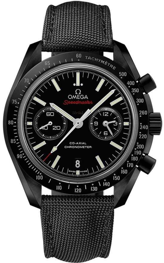 311.92.44.51.01.007 DARK SIDE OF THE MOON Omega Speedmaster Moonwatch Co-Axial Chronograph Mens Watch - mens dress watches, best mens gold watches, mens cuff watches