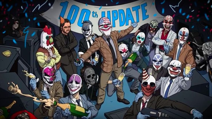 PayDay 2 Official Update 100 Video Producer Almir Listo chats about the past present and future of the shooter. May 31 2016 at 04:52PM  https://www.youtube.com/user/ScottDogGaming