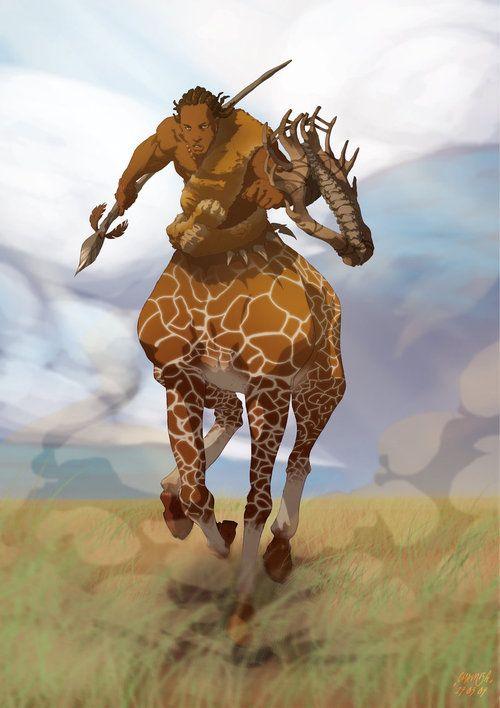 Giraffe Centaur.