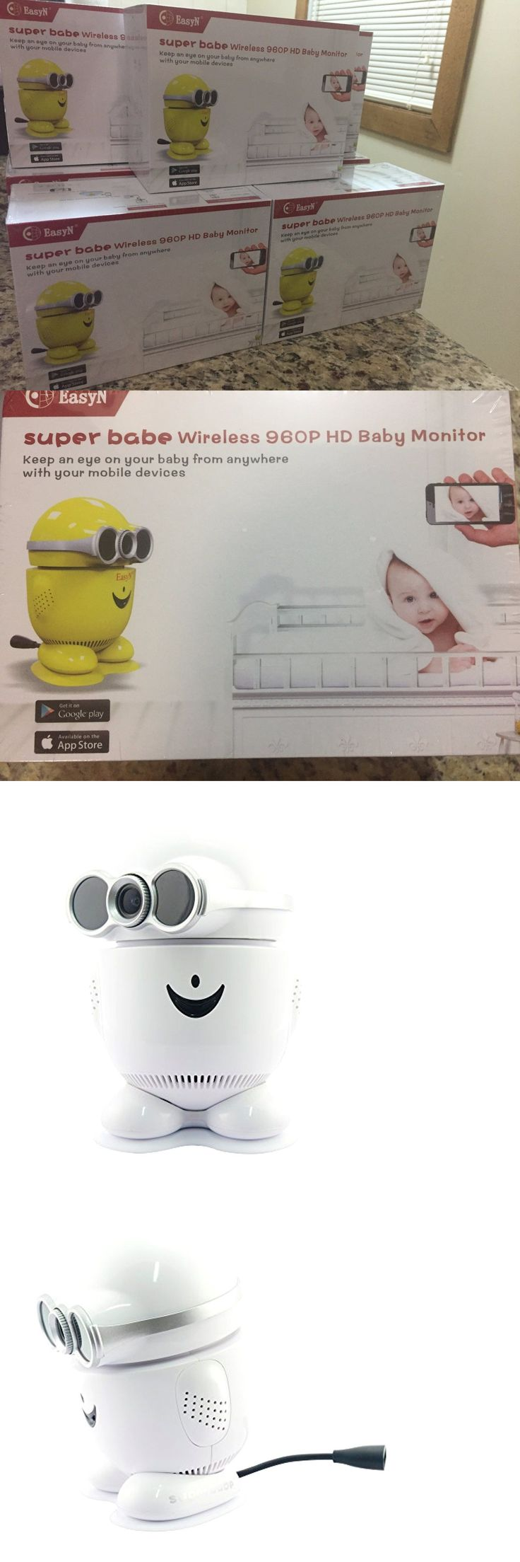 Baby Monitors 20435: Easyn Super Babe 960P Baby Monitor Wifi Wireless Ip Camera -> BUY IT NOW ONLY: $45.5 on eBay!