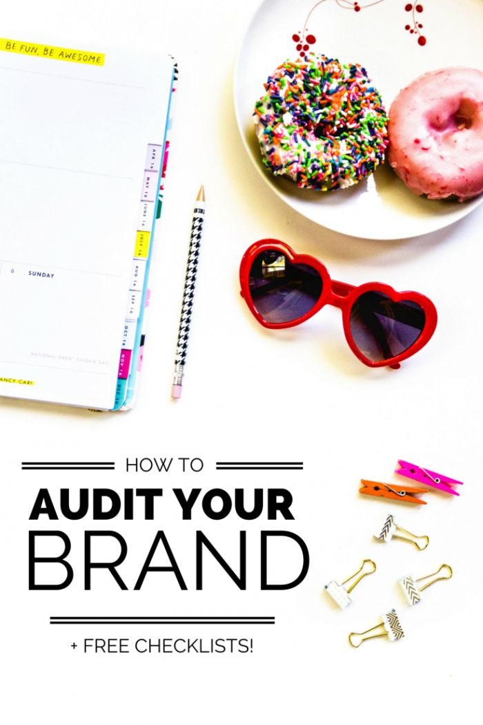 How to audit your brand to make sure that it is CLEAR and extra AWESOME! (Plus FREE checklists!)