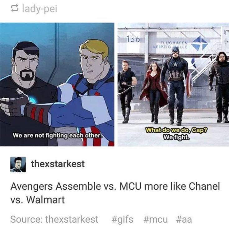 But look cartoon Cap is grabbing at Tony's man boob just like Chris does to all his co stars off screen.