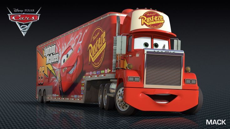 Cars 2 Characters: Mack (voice of John Ratzenberger)